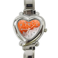 Abstract Angel Bass Beach Chef Heart Italian Charm Watch
