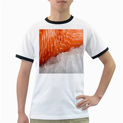 Abstract Angel Bass Beach Chef Ringer T Shirts
