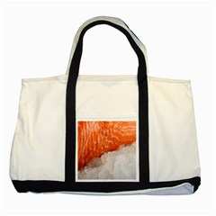Abstract Angel Bass Beach Chef Two Tone Tote Bag
