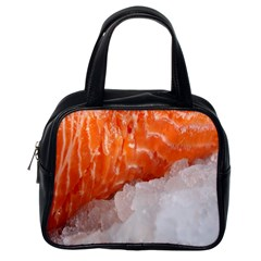 Abstract Angel Bass Beach Chef Classic Handbags (one Side)