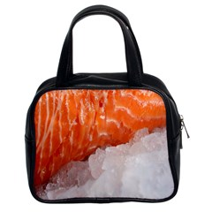 Abstract Angel Bass Beach Chef Classic Handbags (2 Sides)