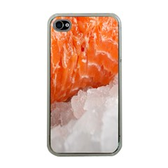 Abstract Angel Bass Beach Chef Apple iPhone 4 Case (Clear)