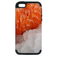 Abstract Angel Bass Beach Chef Apple iPhone 5 Hardshell Case (PC+Silicone)
