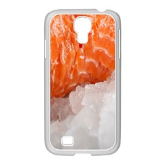 Abstract Angel Bass Beach Chef Samsung Galaxy S4 I9500/ I9505 Case (white)
