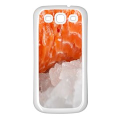 Abstract Angel Bass Beach Chef Samsung Galaxy S3 Back Case (White)