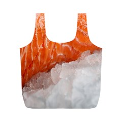 Abstract Angel Bass Beach Chef Full Print Recycle Bags (M)