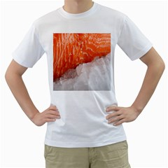 Abstract Angel Bass Beach Chef Men s T-Shirt (White)
