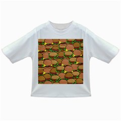 Burger Double Border Infant/toddler T Shirts