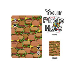Burger Double Border Playing Cards 54 (Mini)