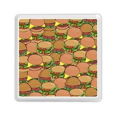 Burger Double Border Memory Card Reader (square)