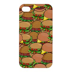 Burger Double Border Apple iPhone 4/4S Hardshell Case