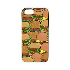 Burger Double Border Apple iPhone 5 Classic Hardshell Case (PC+Silicone)