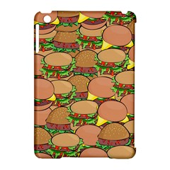 Burger Double Border Apple iPad Mini Hardshell Case (Compatible with Smart Cover)