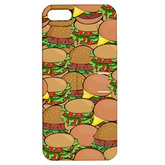 Burger Double Border Apple iPhone 5 Hardshell Case with Stand