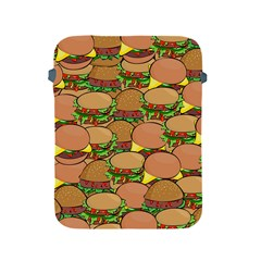Burger Double Border Apple Ipad 2/3/4 Protective Soft Cases