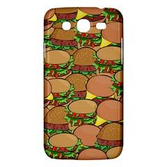Burger Double Border Samsung Galaxy Mega 5.8 I9152 Hardshell Case