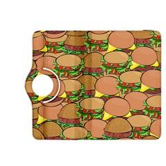 Burger Double Border Kindle Fire Hdx 8 9  Flip 360 Case