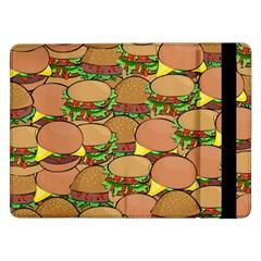Burger Double Border Samsung Galaxy Tab Pro 12.2  Flip Case
