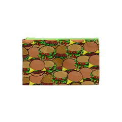 Burger Double Border Cosmetic Bag (XS)