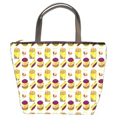 Hamburger And Fries Bucket Bags