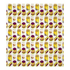 Hamburger And Fries Shower Curtain 66  X 72  (large)