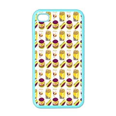 Hamburger And Fries Apple iPhone 4 Case (Color)