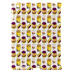 Hamburger And Fries Apple iPad 3/4 Hardshell Case (Compatible with Smart Cover)