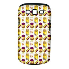 Hamburger And Fries Samsung Galaxy S III Classic Hardshell Case (PC+Silicone)