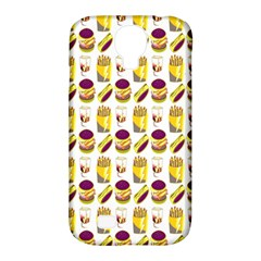 Hamburger And Fries Samsung Galaxy S4 Classic Hardshell Case (PC+Silicone)