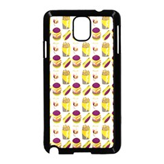 Hamburger And Fries Samsung Galaxy Note 3 Neo Hardshell Case (Black)