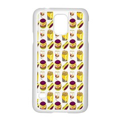 Hamburger And Fries Samsung Galaxy S5 Case (white)