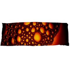 Bubbles Abstract Art Gold Golden Body Pillow Case Dakimakura (two Sides)