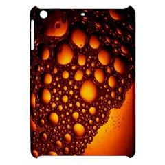 Bubbles Abstract Art Gold Golden Apple iPad Mini Hardshell Case