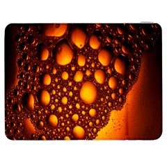 Bubbles Abstract Art Gold Golden Samsung Galaxy Tab 7  P1000 Flip Case