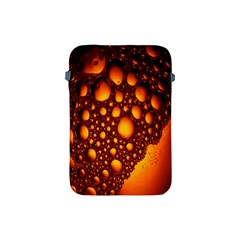 Bubbles Abstract Art Gold Golden Apple iPad Mini Protective Soft Cases