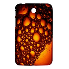 Bubbles Abstract Art Gold Golden Samsung Galaxy Tab 3 (7 ) P3200 Hardshell Case