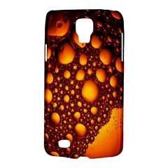 Bubbles Abstract Art Gold Golden Galaxy S4 Active
