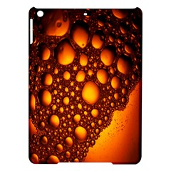Bubbles Abstract Art Gold Golden iPad Air Hardshell Cases