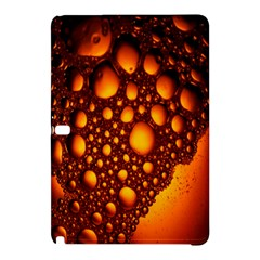 Bubbles Abstract Art Gold Golden Samsung Galaxy Tab Pro 10.1 Hardshell Case