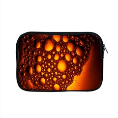 Bubbles Abstract Art Gold Golden Apple Macbook Pro 15  Zipper Case