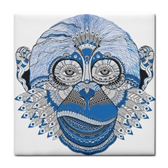 Pattern Monkey New Year S Eve Tile Coasters