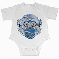 Pattern Monkey New Year S Eve Infant Creepers