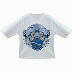 Pattern Monkey New Year S Eve Infant/toddler T Shirts