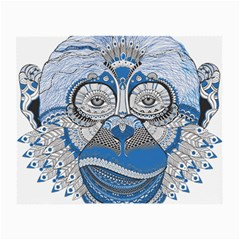 Pattern Monkey New Year S Eve Small Glasses Cloth