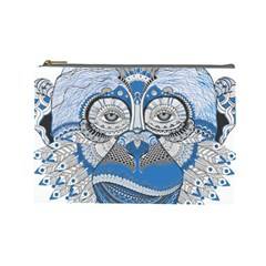 Pattern Monkey New Year S Eve Cosmetic Bag (large)