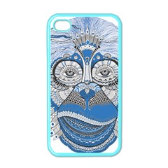 Pattern Monkey New Year S Eve Apple iPhone 4 Case (Color)