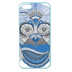 Pattern Monkey New Year S Eve Apple Seamless iPhone 5 Case (Color)