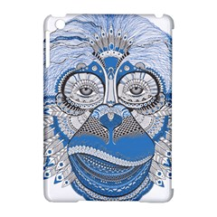 Pattern Monkey New Year S Eve Apple Ipad Mini Hardshell Case (compatible With Smart Cover)