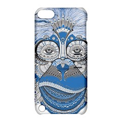 Pattern Monkey New Year S Eve Apple iPod Touch 5 Hardshell Case with Stand