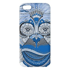Pattern Monkey New Year S Eve Apple iPhone 5 Premium Hardshell Case